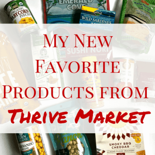 My New Favorite Products from Thrive Market | Healthy Helper @Healthy_Helper A roundup of the products I am currently loving from Thrive Market! Thrive is an online retailer that's a mix between Whole Foods and Costco. Get all the healthy living essentials you need for 25-50% off the normal prices.