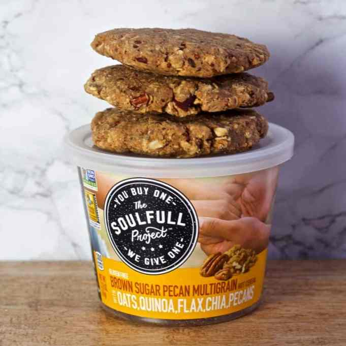 No Bake Maple Pecan Breakfast Cookies [gluten-free + vegan] | Healthy Helper @Healthy_Helper