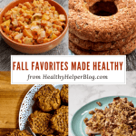 Fall Favorites Made Healthy | Healthy Helper @Healthy_Helper The ULTIMATE roundup of healthy recipes to celebrate FALL! This season is all about warm, cozy comfort foods along with sweetly spiced flavors. Here you'll find a mixture of delectable sweet n' savory dishes that use the best in-season produce and remind you of all the things you love about this time of year.