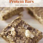 Pumpkin Spice Latte Protein Bars [vegan + gluten-free]