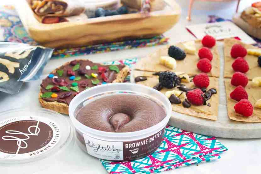Delighted By Dessert Hummus Interview   Healthy Helper @Healthy_Helper An in depth, exclusive interview with the CEO, Founder, and Chief Breath Taker of Delighted By Dessert Hummus.