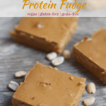 Peanut Butter & Jelly Protein Fudge   Healthy Helper @Healthy_Helper Soft, dense, peanut buttery fudge filled with the subtle sweetness of strawberry flavor. The classic combination of peanut butter and jelly comes together in this deliciously healthy protein fudge recipe! Vegan, gluten-free, grain-free, and only 3 ingredients!