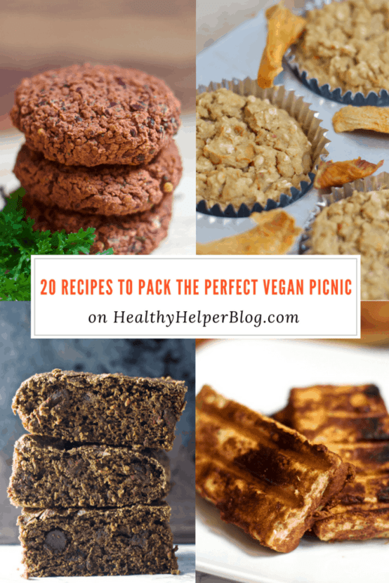 20 Recipes to Pack the Perfect Vegan Picnic | Healthy Helper @Healthy_Helper A roundup of healthy vegan versions of your favorite foods for picnic season! All the classic picnic staples made healthy and animal product free.