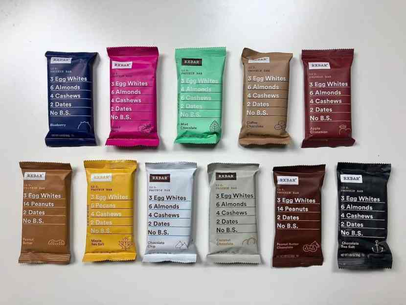 The Definitive Ranking of ALL RXBar Flavors | Healthy Helper The ultimate (and most definitive) ranking of RXBars. This roundup of every RXBar flavor is unquestionably accurate in rating each variety in terms of taste, texture, and overall satisfaction! Where does YOUR favorite stack up?!