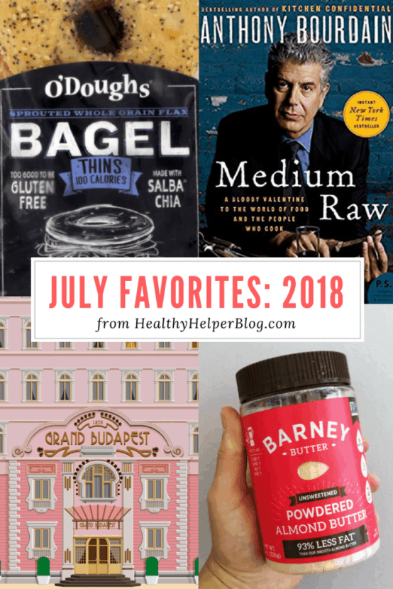July Favorites: 2018 | Healthy Helper A roundup of my current favorite products, links, and things from around the web! Check out the list and find some new things to try for yourself.