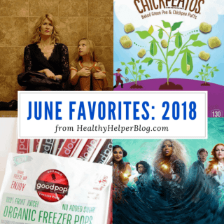 June Favorites: 2018   Healthy Helper A roundup of my current favorite products, links, and things from around the web! Check out the list and find some new things to try for yourself.