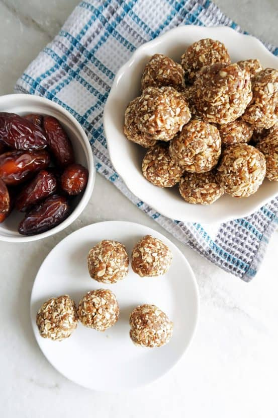 30 Energy Bite Recipes You Need to Make Today | Healthy Helper The ULTIMATE energy bite roundup! Healthy, easy to make bite recipes that make for perfect snacks to fuel your day. Vegan, gluten-free, and grain-free options.