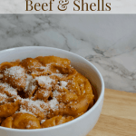 Creamy Vegan Instant Pot Beef and Shells | Healthy Helper This Creamy Vegan Beef & Shells dish is an easy one pot dinner made entirely in a pressure cooker. It's like homemade hamburger helper, with ground beef and pasta in a tomato cream sauce and very kid-friendly!