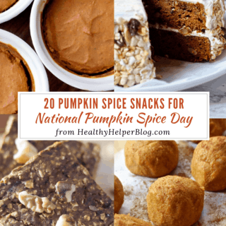 20 Pumpkin Spice Snacks for National Pumpkin Spice Day   Healthy Helper A roundup of the best homemade and store bought pumpkin spice snacks for fall! The perfect way to celebrate National Pumpkin Spice Day.