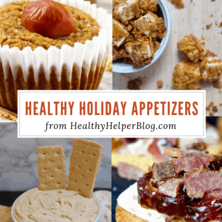22 Healthy Holiday Appetizers | Healthy Helper A roundup of healthy appetizers to make for the holidays or just for entertaining in general. Vegan, gluten-free, and paleo-friendly options your guest will LOVE.