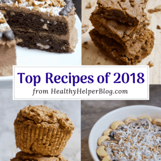 Top Recipes of 2018 | Healthy Helper A roundup of the TOP recipes on Healthy Helper in 2018!