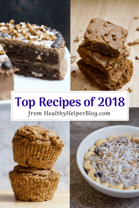 Top Recipes of 2018   Healthy Helper A roundup of the TOP recipes on Healthy Helper in 2018!