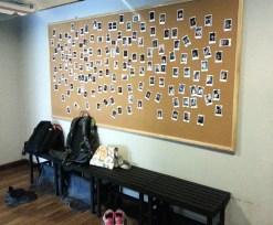 Wall of members