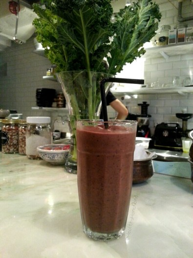Chocolate Dream smoothie - HK$55