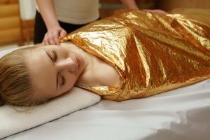 European Warm Herbal Body Wrap in Falmouth, ME