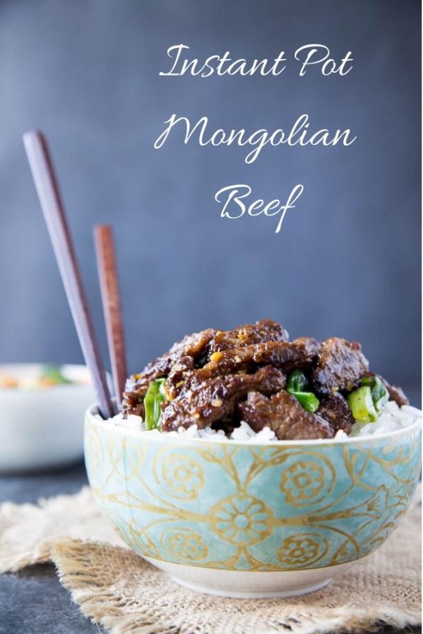 Easy Instant Pot Mongolian Beef