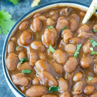Instant Pot Ranch Style Beans