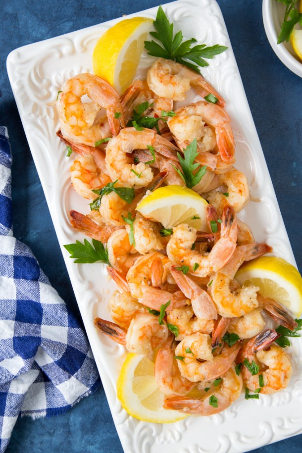 Shrimp Scampi {Low Carb, Keto}