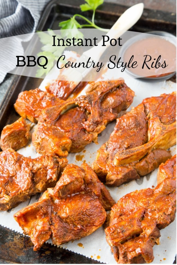 Instant Pot BBQ Country Style Ribs