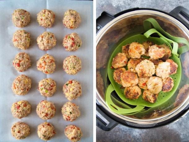 How to Make Cajun Breakfast Meatballs (instant pot)
