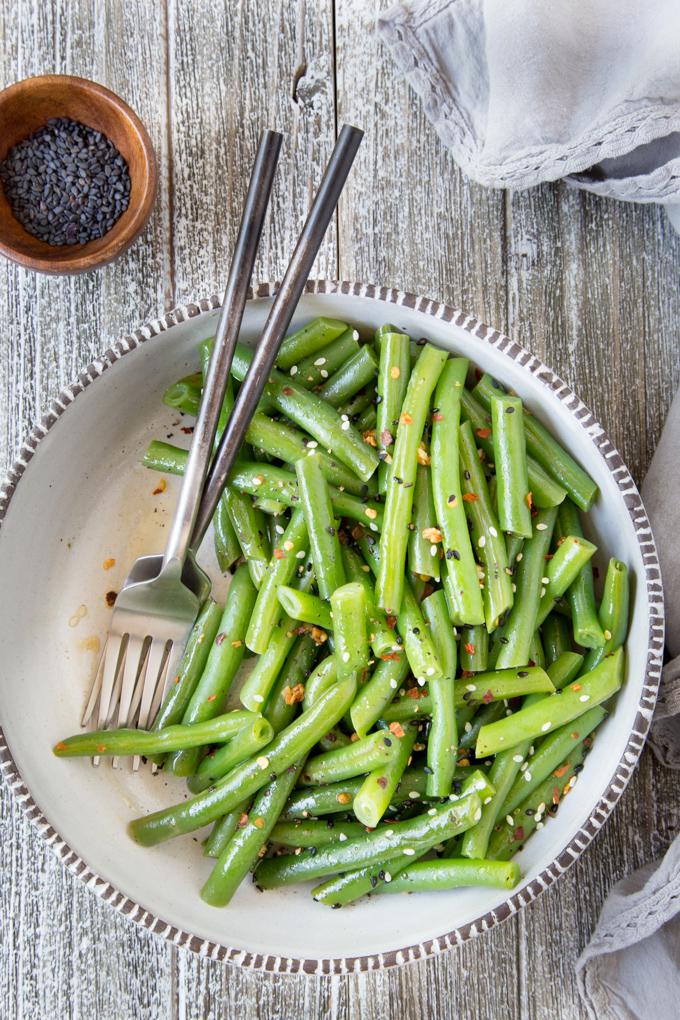 Instant Pot Sesame Green Beans