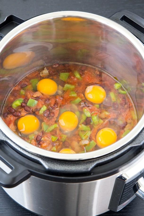 Huevos Rancheros {Instant Pot}