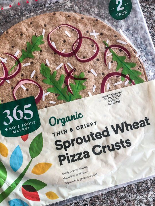 sprouted wheat pizza crust