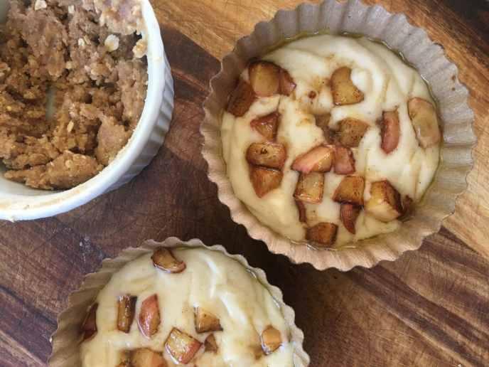 Healthyish Apple Crumb Cake - Because Fall is Coming