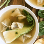 Vegetarian Wonton Soup, A Healthyish Brand Recipe