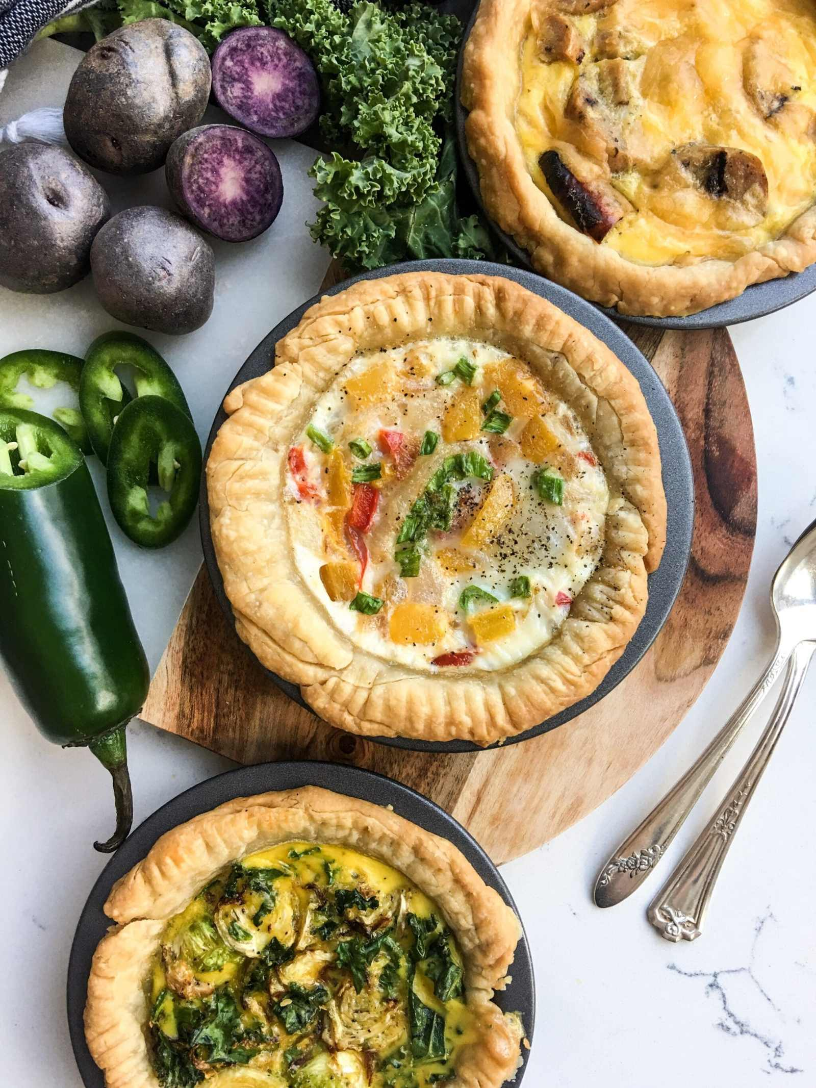 Mini Vegetarian Quiche, A Healthyish Brand Recipe