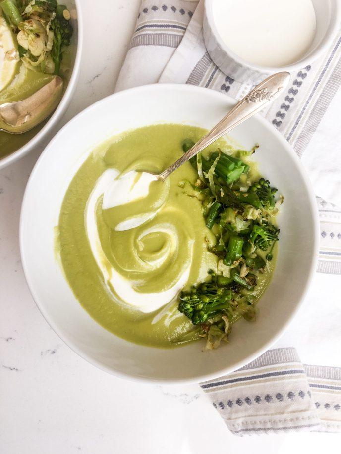 Vegetarian Spring Soup, A Healthyish Brand Recipe
