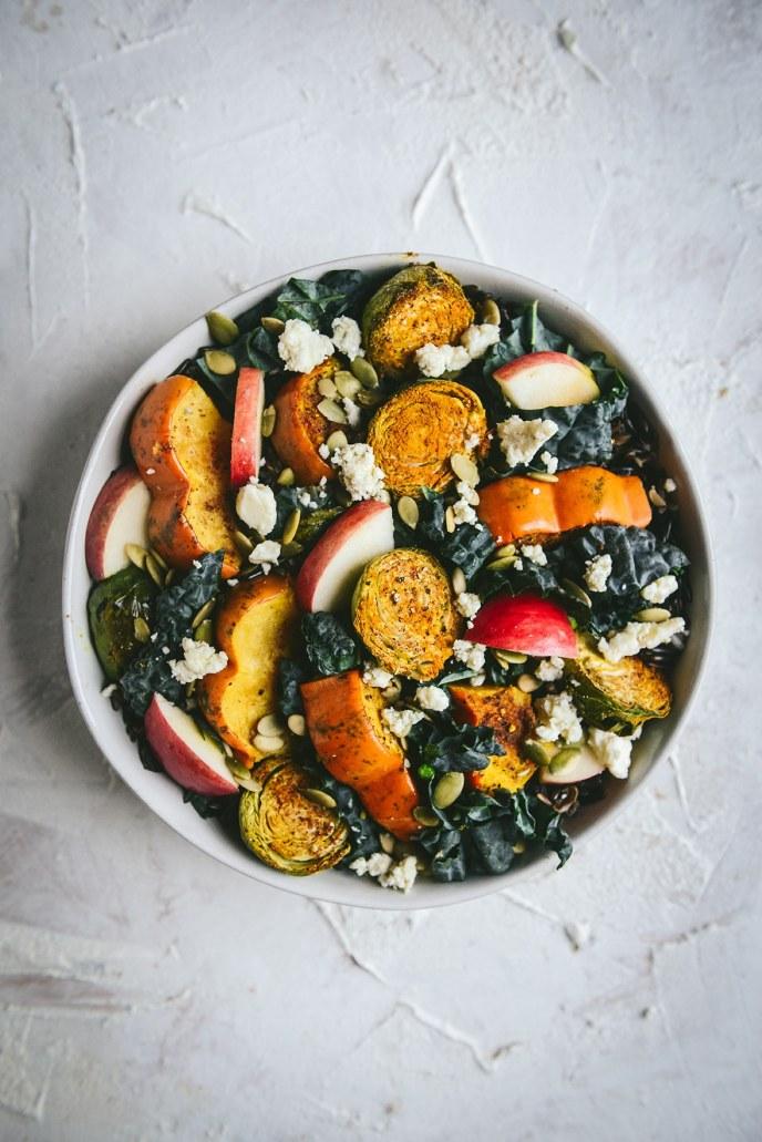 A Healthy Fall Grain Bowl // www.HealthyishFoods.com