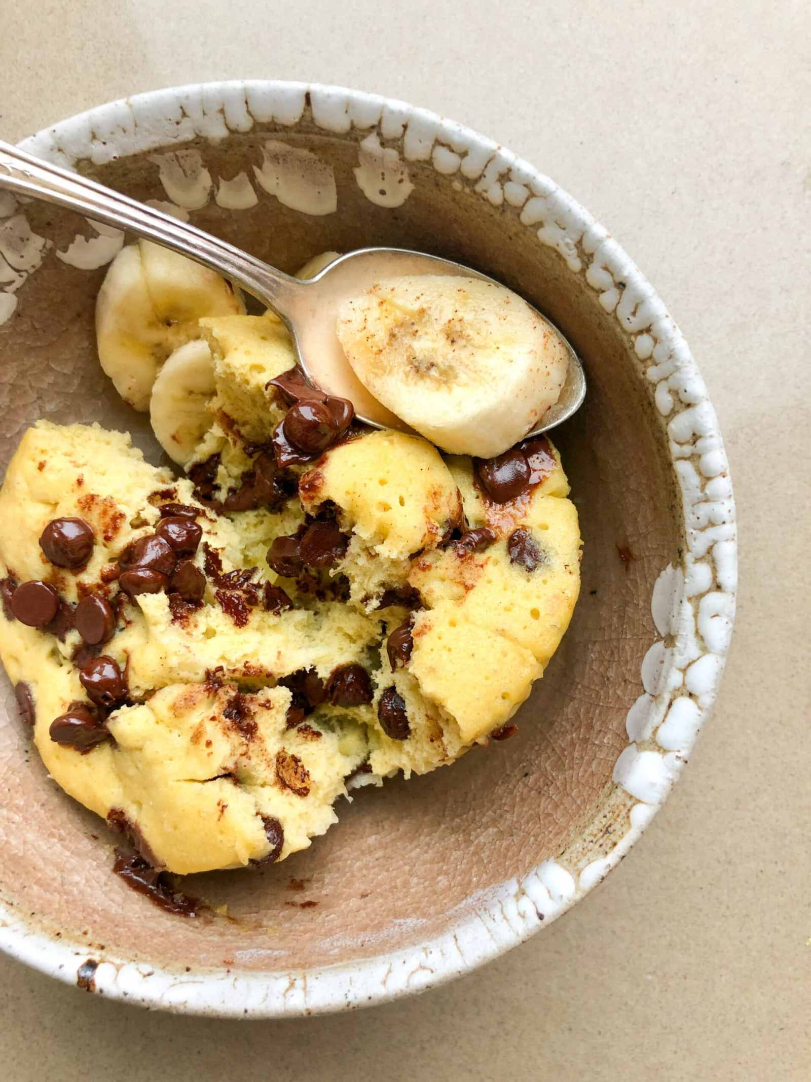 1 Minute Gluten Free Mug Muffin- Healthyish Foods