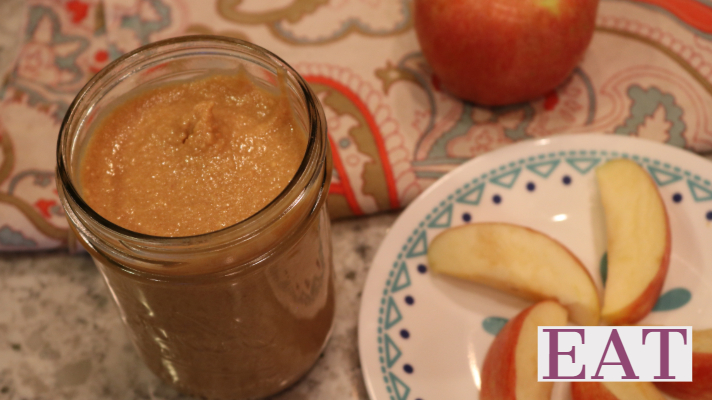 Creamy Homemade Peanut Butter Sugar Free!