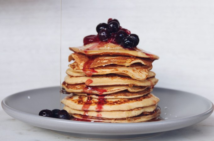 Cottage Cheese Pancakes