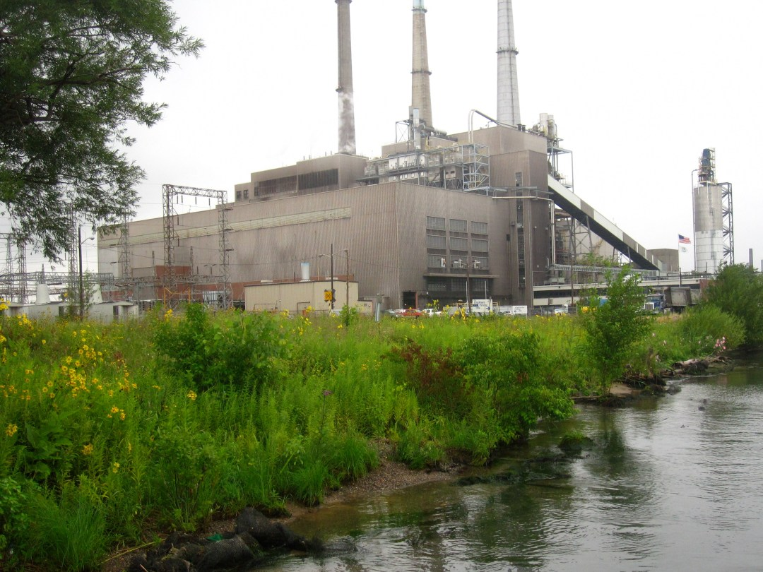 A photo of the US Steel Plant