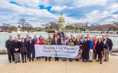 Great Lakes Advocates in D.C. to Support Clean Water