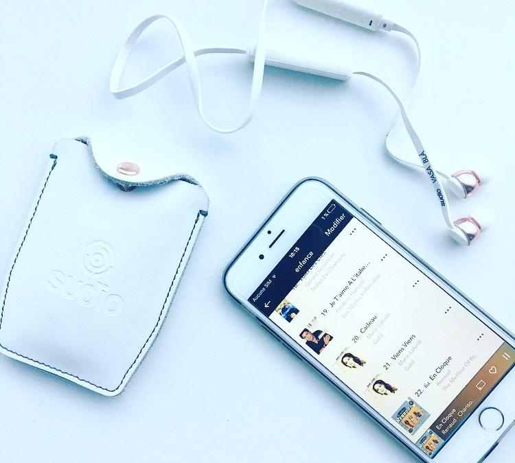 Je vous parle de l'application Napster et des écouteurs bluetooth Sudio