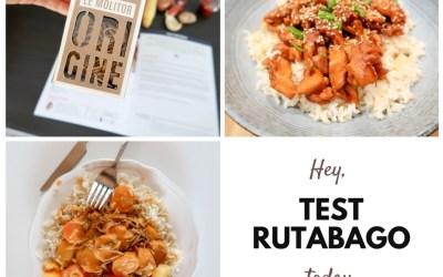 Je teste : La box Rutabago