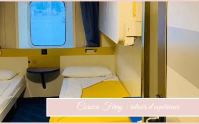 Corsica Ferry : retour d'expérience