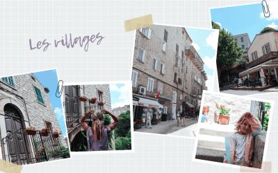 Corse, les villages
