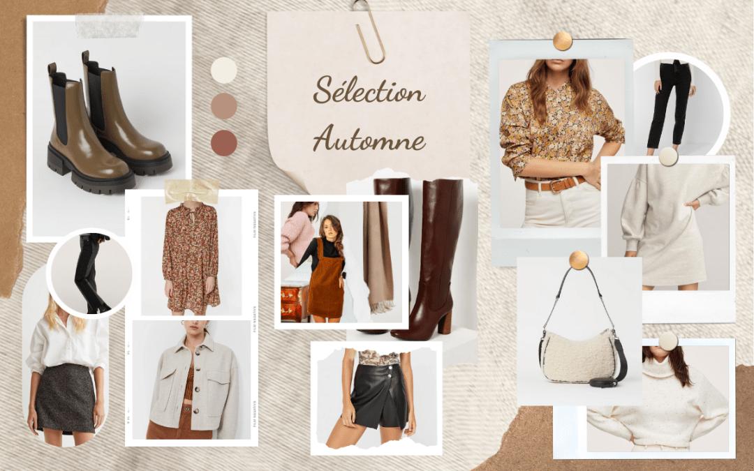 Sélection Shopping : quoi porter en automne ?