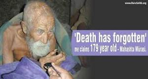 THIS MAN IS 179 YEARS OLD: 'MAYBE THE ANGEL OF DEATH FORGOTTEN ME'! HE SAID [VIDEO]
