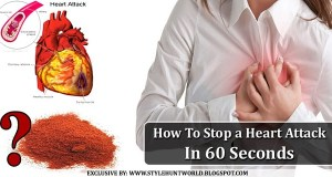 How To Stop a Heart Attack In 60 Seconds