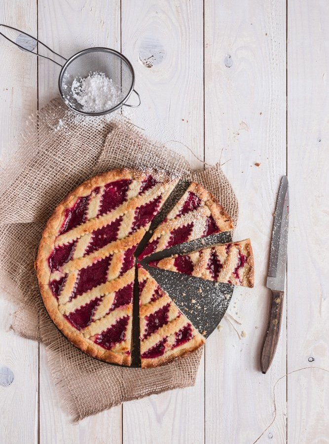 STRAWBERRY JAM TART FOR MOTHER'S DAY / MY MOM'S SECRET RECIPE
