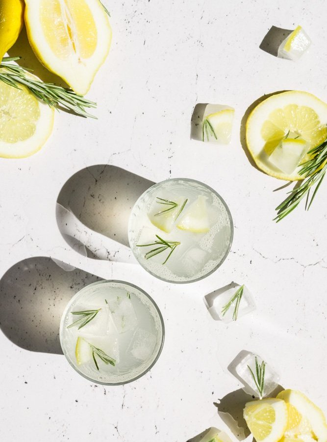 ROSEMARY LEMONADE / REFRESHING DRINK / PERFECT FOR SUMMER