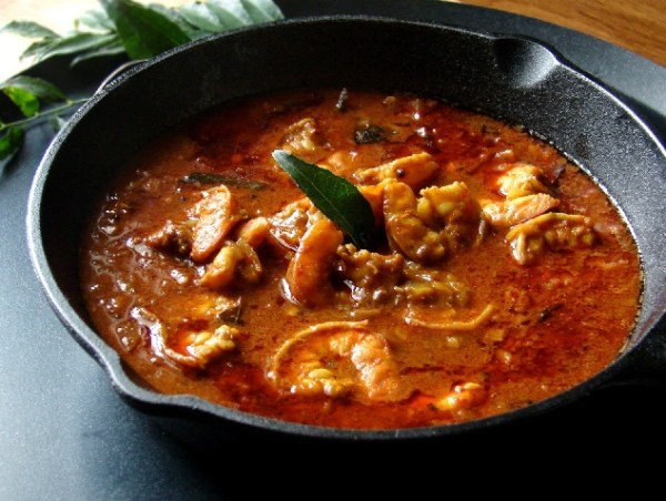 Image result for kerala prawn curry (chemmeen curry)