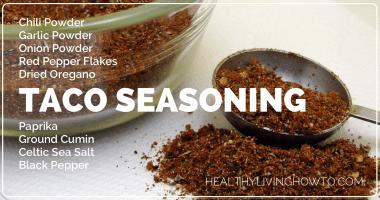 Healthy Taco Seasoning