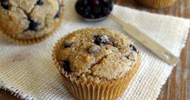 Blueberry Muffins with Lemon Stevia
