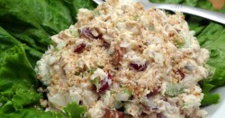 Crunchy and Nutty Salmon Salad